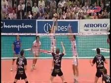 AZS Częstochowa - Trentino Volley (SET 1,2)