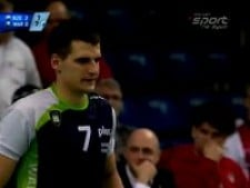 Krzysztof Ignaczak scored the point