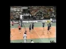 Yugoslavia actions in match Netherlands - Yugoslavia (short cut)