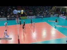 Two and a half men (Lube Banca Macerata - Trentino Volley)