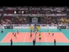 Vlado Petkovic and Marlon nice sets (Brazil - Serbia)