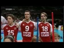 Austrian actions in match Austria - Slovenia