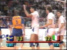 Sweden - Italy (1989, SET3)