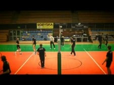 A day in the life of Skra Bełchatów players