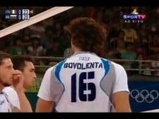 Vigor Bovolenta in match Italy - Bulgaria