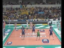 Leandro Vissotto in match Trentino Volley - Macerata