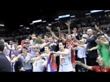 Lube Banca Macerata celebrate title of Italian Champion