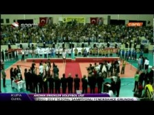 Fenerbahce Istanbul - Arkas Spor Izmir (final, last match)