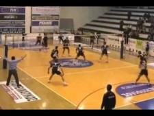 Liberman Agamez 55 points in match EA Patras - Pagrati