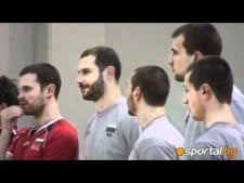 Bulgarian first workout in Sofia
