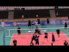 USA training before World League 2011