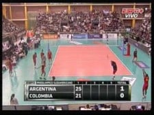Argentina - Colombia (South America Olympics qualitication)