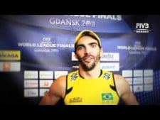 Giba interview (World League 2011 Final Eight)