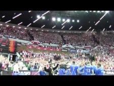 Polish fans in Spodek