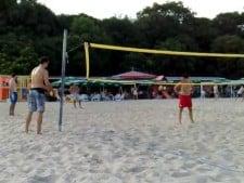 Kaziyski and Sokolov plays beach volley (2nd movie)