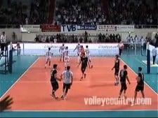 David Konecny vs Paris Volley (10 aces)