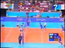 Italy - Argentina (The Olympics 2000, short cut)