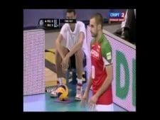 Valentin Bratoev 4 aces in the row