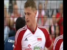 Piotr Nowakowski 3rd meter spikes (Poland - Iran)