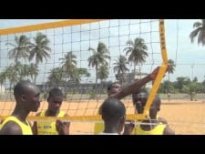 Volleyball Cooperation Programme in Togo (July 2012)