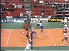 Netherlands in EuroVolley 1993 preliminary round