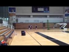 Raphael vs Juantorena challenge on the 40-meter dash