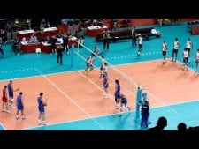 Russia - Brazil warm-up (The Olympics 2012)