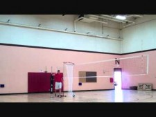 Volleyball trick shots
