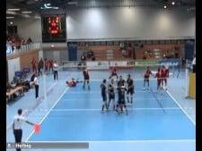 Mitteldeutschland in match (Mitteldeutschland - Moerser SC)