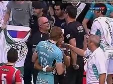Volleyball quarrel (Medley/Campinas - Sesi Sao Paulo)