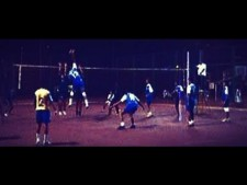 Toto junior volleyball player