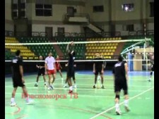Egypt training before World Cup 2011