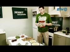 Valerio Vermiglio in kitchen