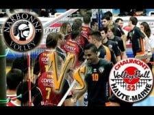 Narbonne Volley - Chaumont Volley-Ball 52 (Highlights)