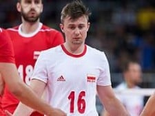 Krzysztof Ignaczak scored the point (Poland - Italy)