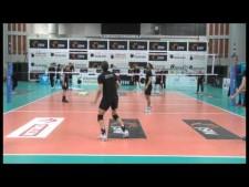 Skra Bełchatów training (before match Jastrzębski - Skra)