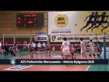 AZS Politechnika Warszawska - Delecta Bydgoszcz (short cut)