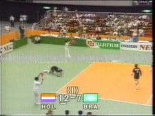 The Nederlands - Brazil (World League 1990, short cut)