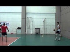 Dusan Bonacic slow motion serve