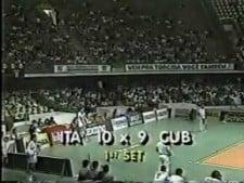 Italy - Cuba (World Championships 1990, full game)
