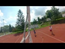 ORLIK eRKa's outdoor volleyball training