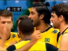 Brazil - France (World League 2013, short cut)