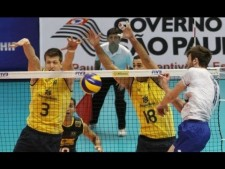 Brazil - France (World League 2013, full match)