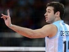 Luciano De Cecco in The Olympics 2012