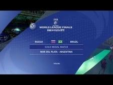 Russia - Brazil (World League 2013, full game)