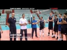 France training before World League 2013