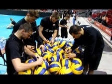 Poland training before EuroVolley 2013