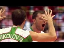 Tsvetan Sokolov huge spike on the triple block