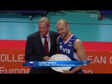 Alexey Verbov in match Russia - Italy