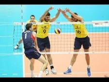 Brazil - USA (Grand Champions Cup 2013, Highlights)
